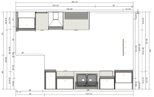 kitchen-drawing-top-view