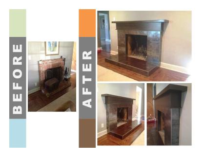 before-after-mantel
