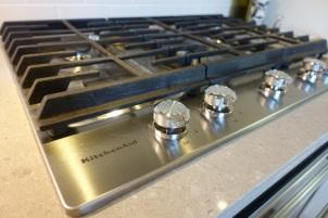 KitchenAid stove top
