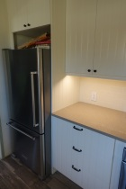 Refrigerator and under cabinet lights