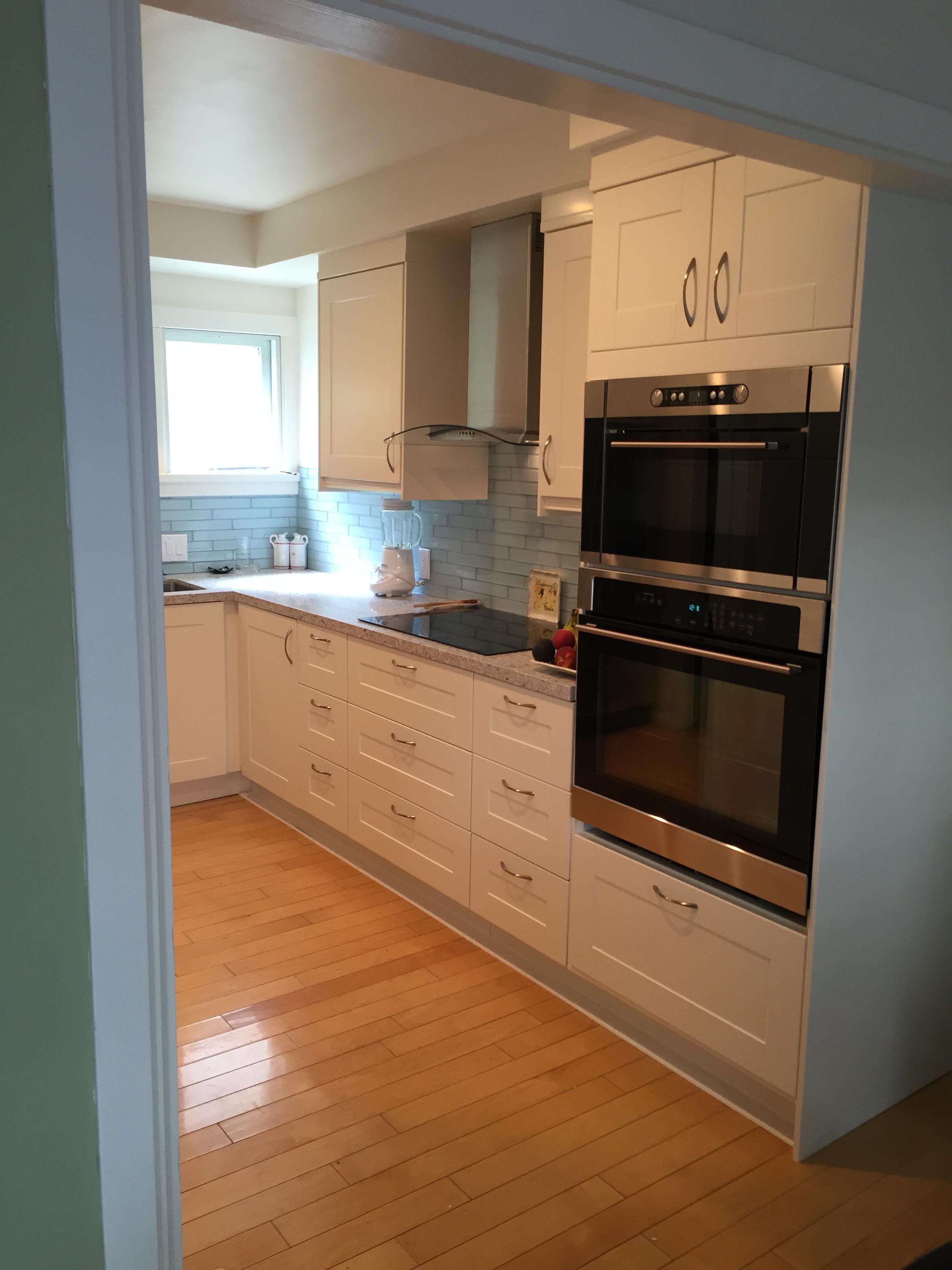 ikea oven microwave combo binnenhof construction kitchen installations. Black Bedroom Furniture Sets. Home Design Ideas